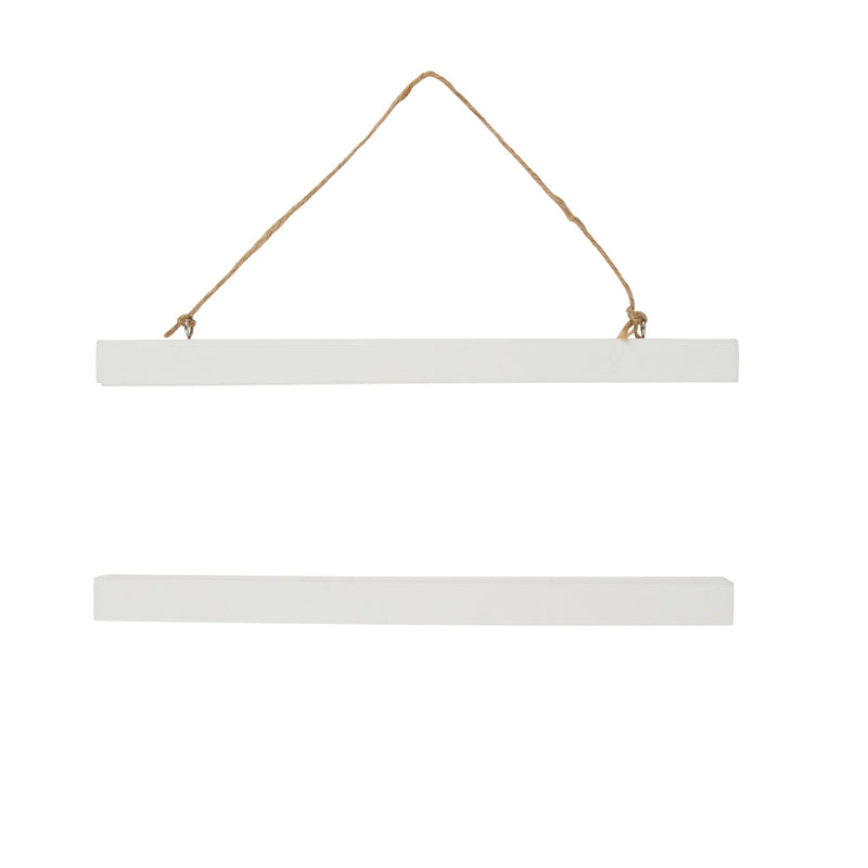 White Magnetic Wall Art Hangers