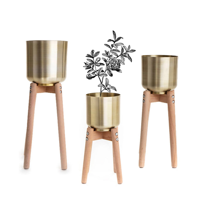 Gold Stilts Planters