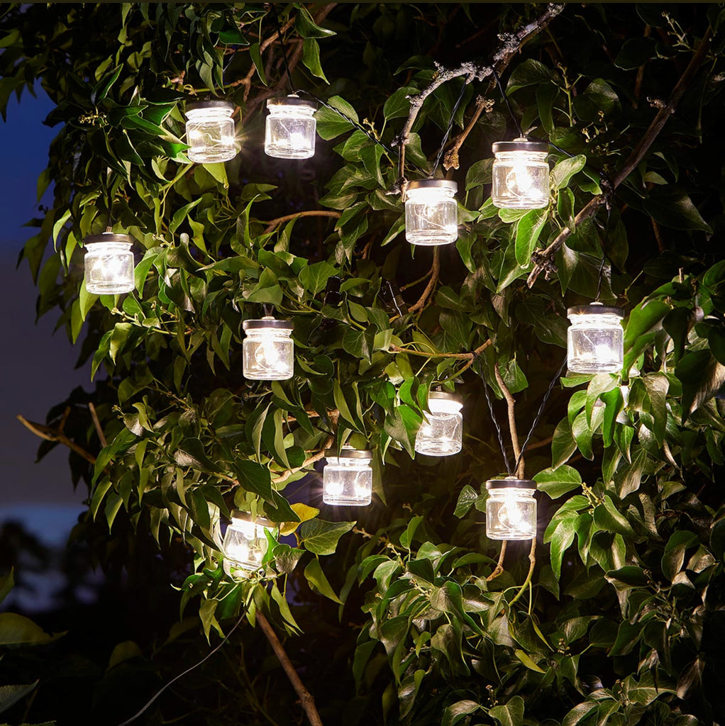 Solar Jar Fairy Lights