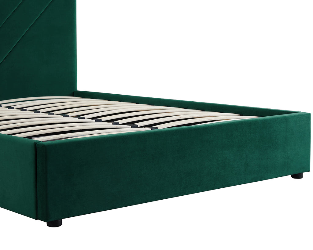 Mimi Velvet Bed Evergreen