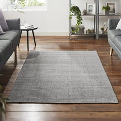 Jute Rug Natural Warm Grey