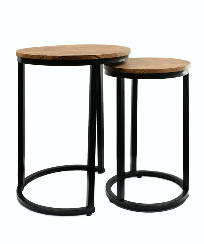 Set of 2 Espresso Tables