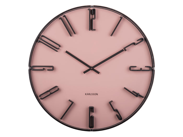 Retro Dusk Wall Clock
