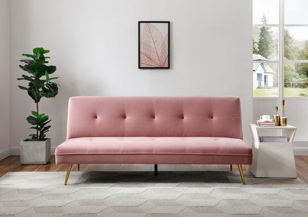 Lola Sofa Bed Blush