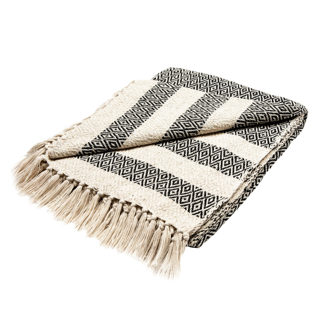 Scandi Oat Throw