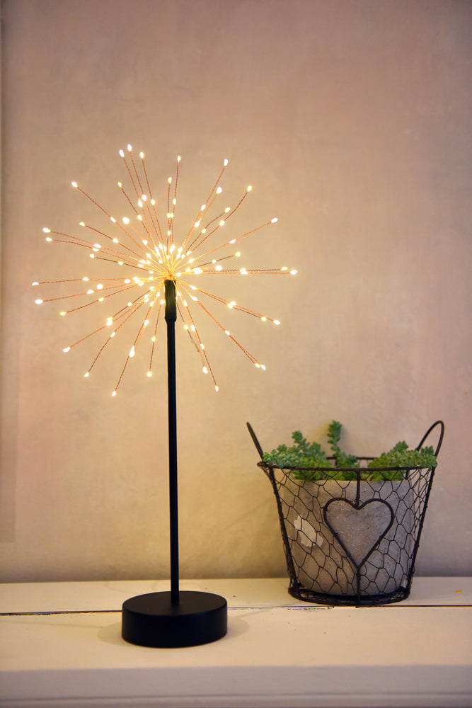 Copper Starburst Table Stand