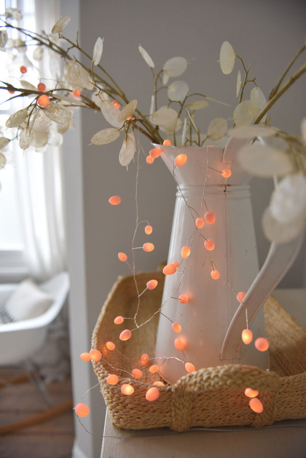 Blush Pearl String Lights