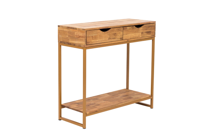 Vega Gold Console Table