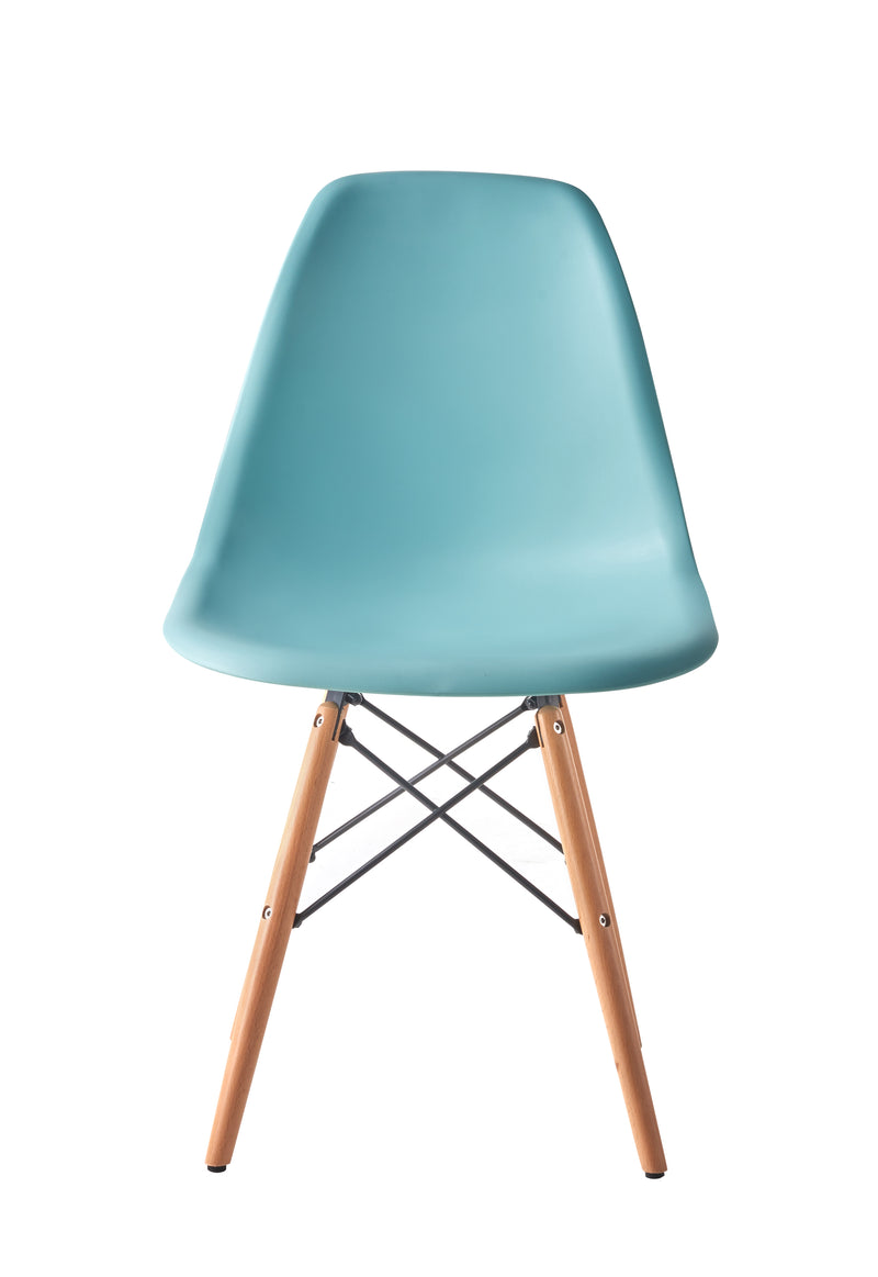 Eames Style Wooden Chair Mint