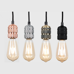 Vintage Bulb Holder 2m Pendants