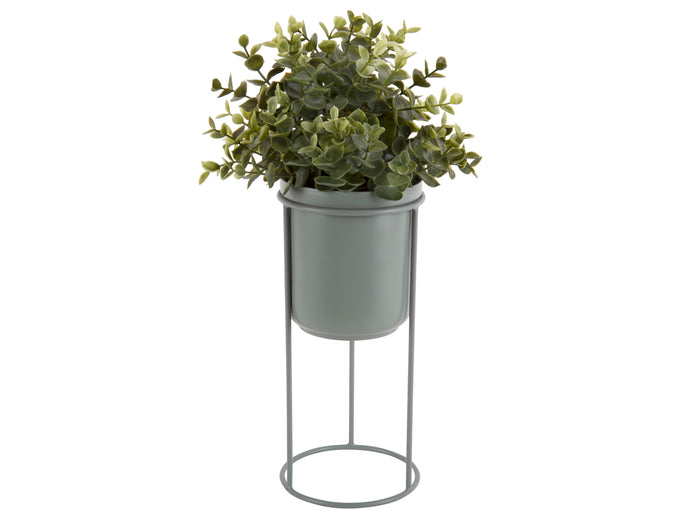 Pipe Green Standing Planter