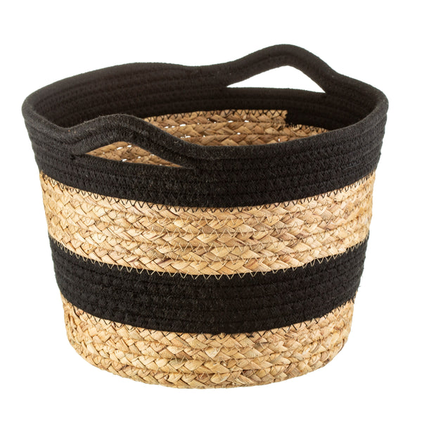 Seagrass Basket Monochrome Block