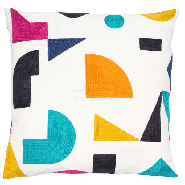 Mid-Century Modern Cushion Filled