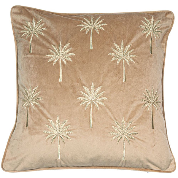 Samburu Palm Cushion Filled Taupe