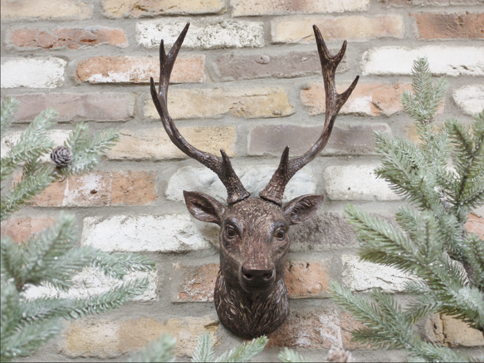 Wall Stag Head