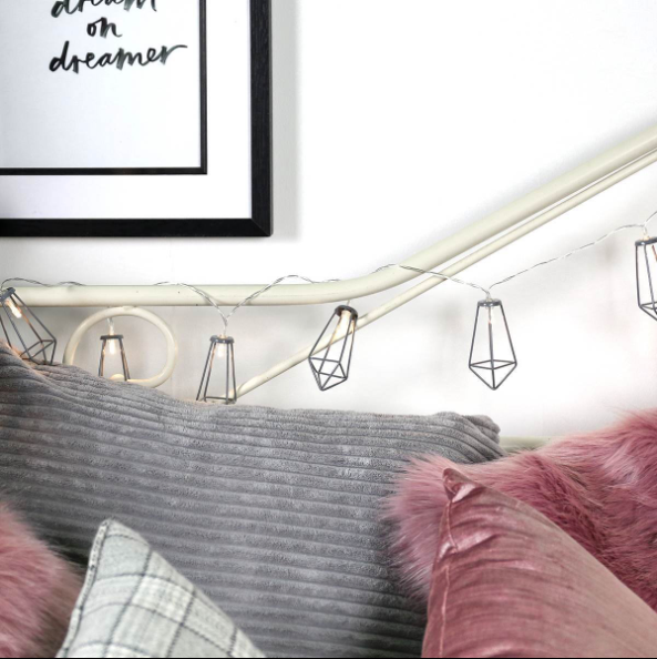 Charcoal Lantern String Lights