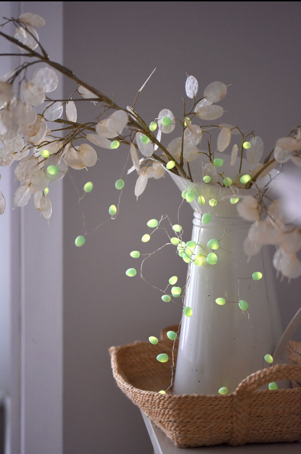 Mint Pearl String Lights