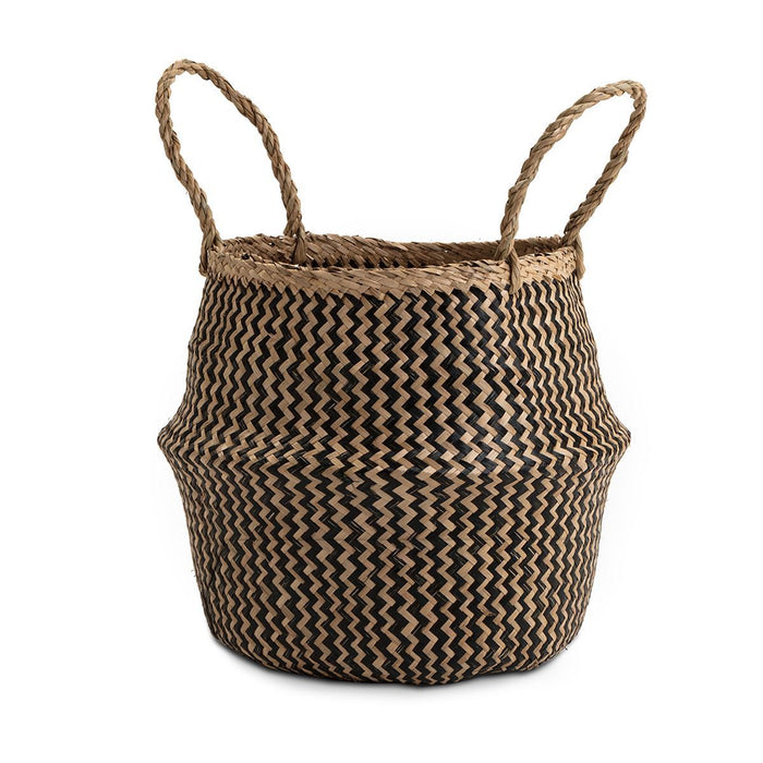 Seagrass Basket Black