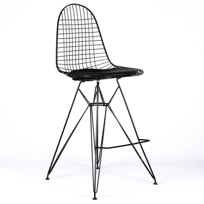 Wire Eames Style Bar Stool