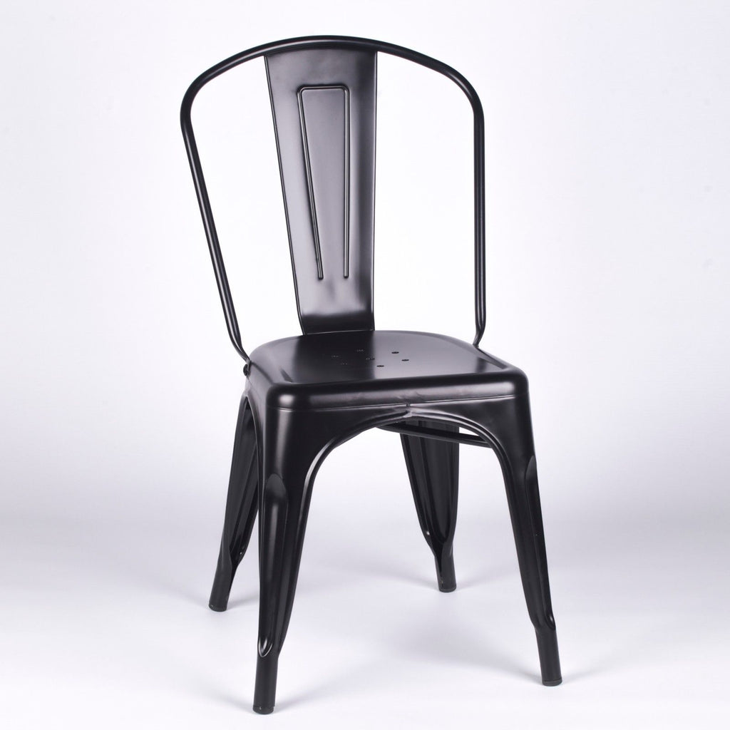 Tolix Style Chair Black. Next