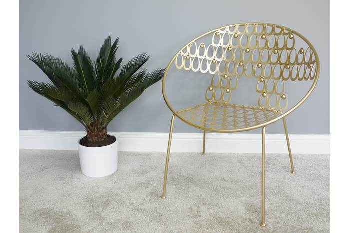 Gold Deco Chair