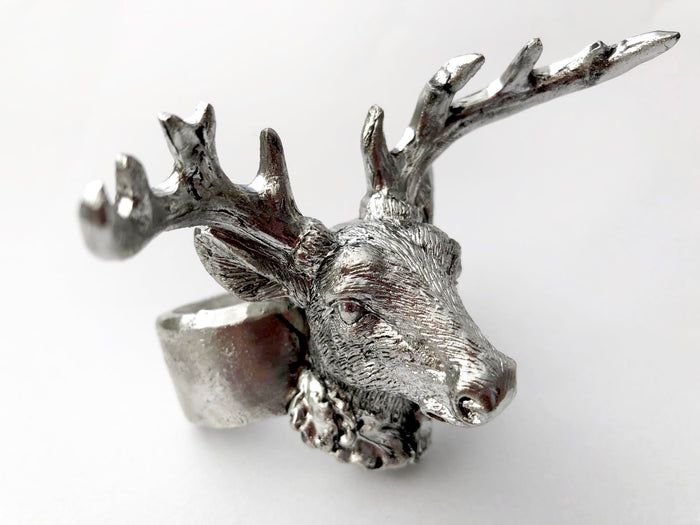Stag Head Napkin Ring