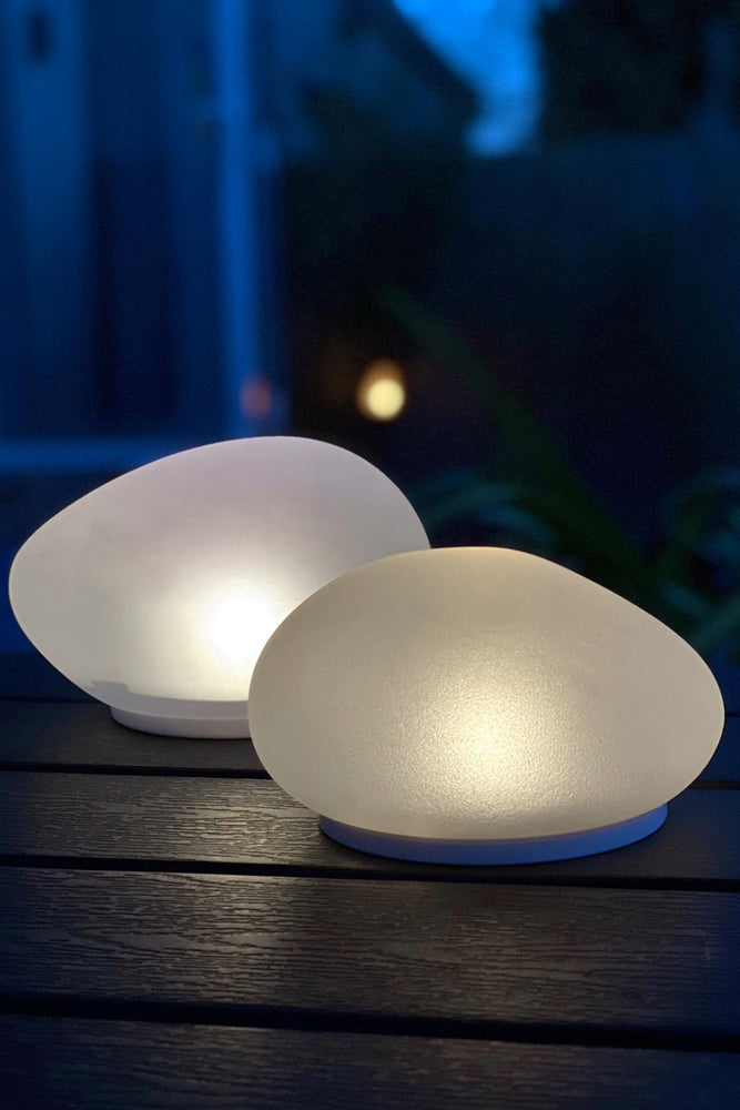 Glass Pebble Solar