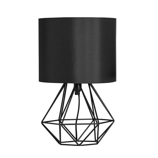 Geo Belly Table Lamp Black
