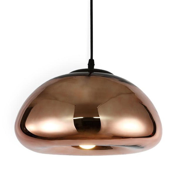 Plume Pendant Copper