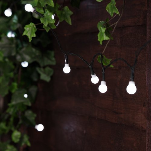 Berry String Lights Warm White 5m