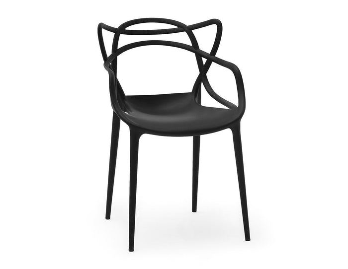Masters Style Chair Black