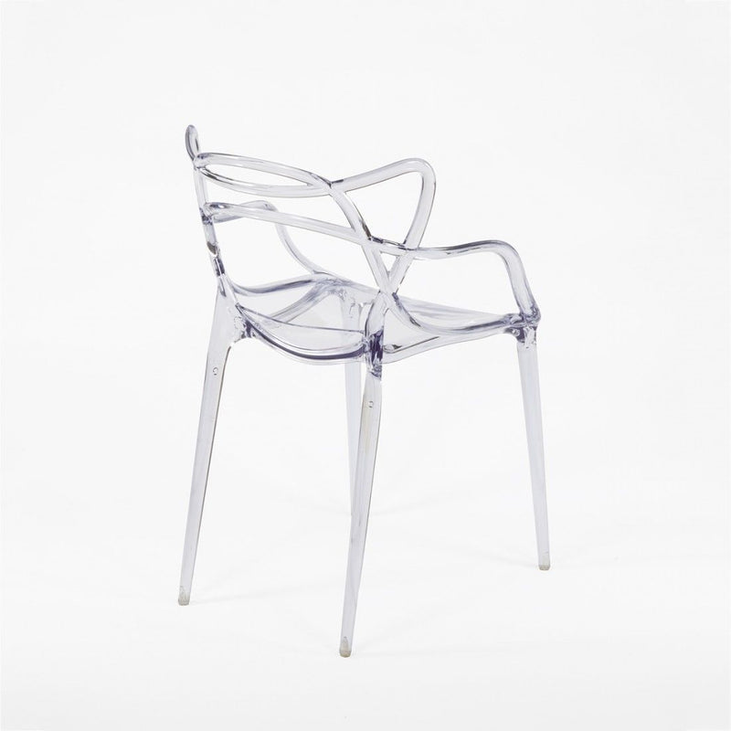 Set of 4 Masters Style Chair Clear