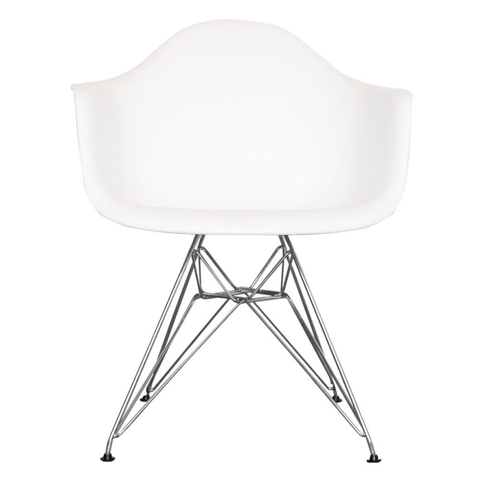 Eiffel Tub Chair Metal White