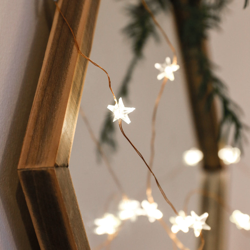Copper Micro Star Lights