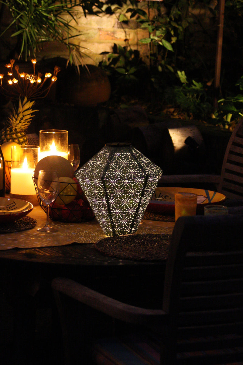 Lumi Solar Lantern Diamond Hang up/Stand up