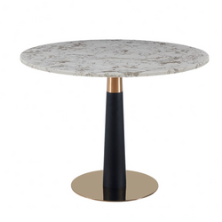 Daphne Dining Table White 100cm