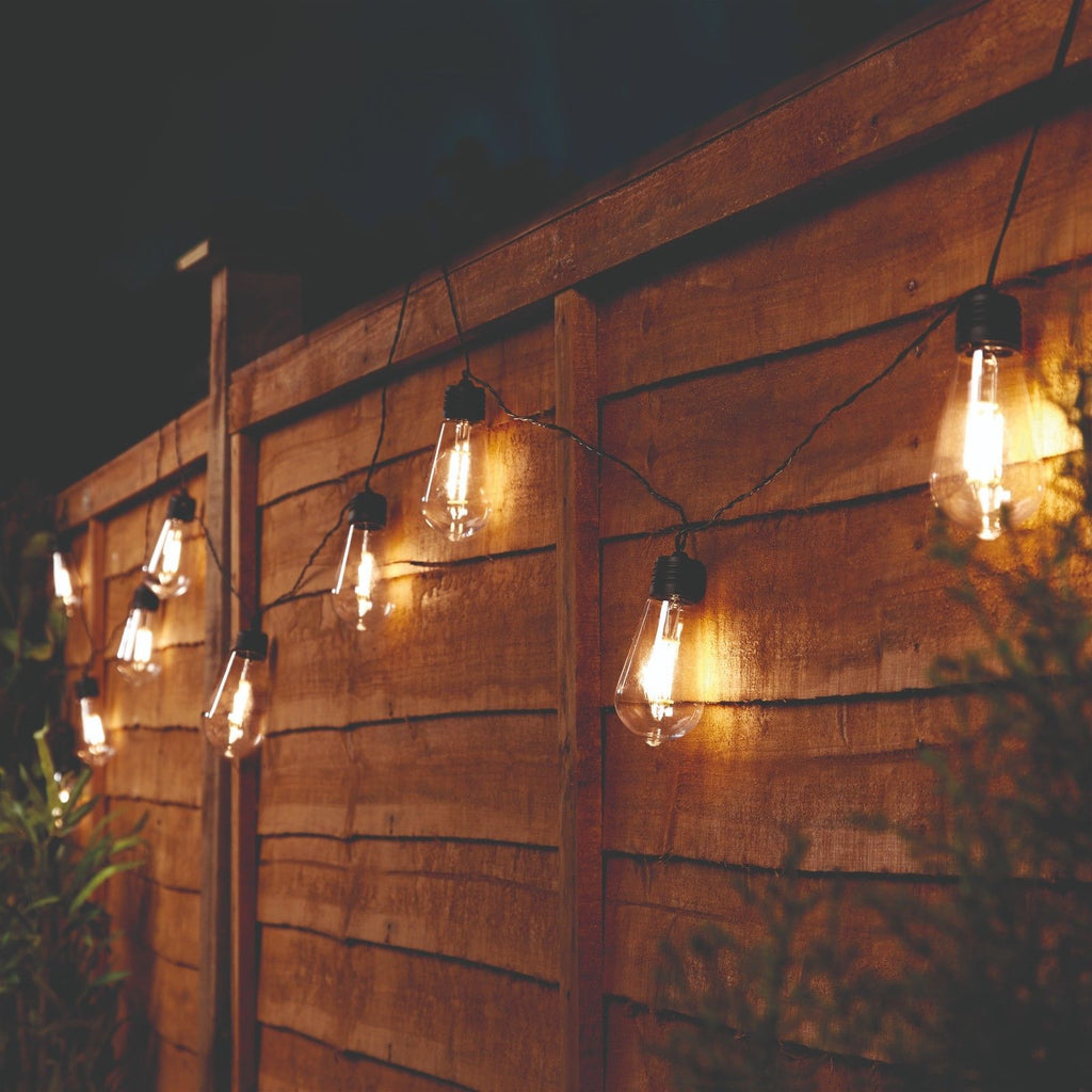 Solar Edison Style Festoon Lights