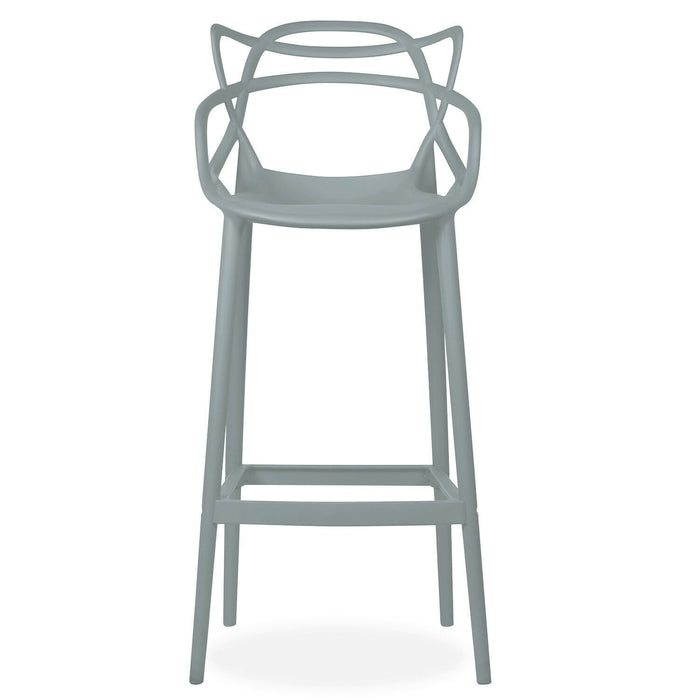 Masters Style Bar Stool Dark Grey