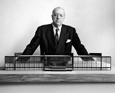 ludwig mies van der rohe minimalist design less is more