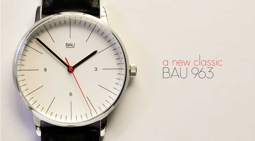 BAU 963 Bauhaus Minimalist Watch BAuwatches