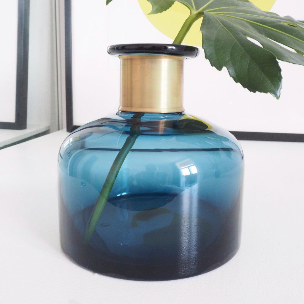 Blue Glass Interiors Bottle