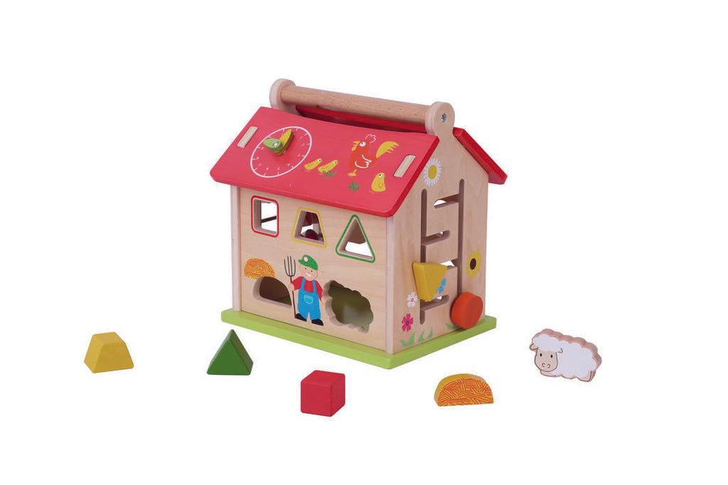 Everearth - Farm Activity Shape Sorter