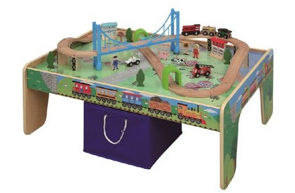 50 Piece Train Table