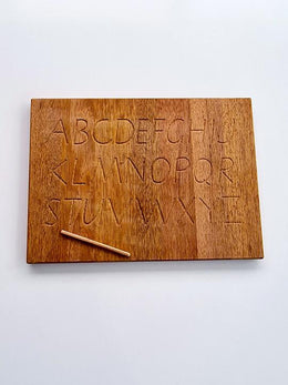 The Wooden Toy Co - Alphabet Tracing Board