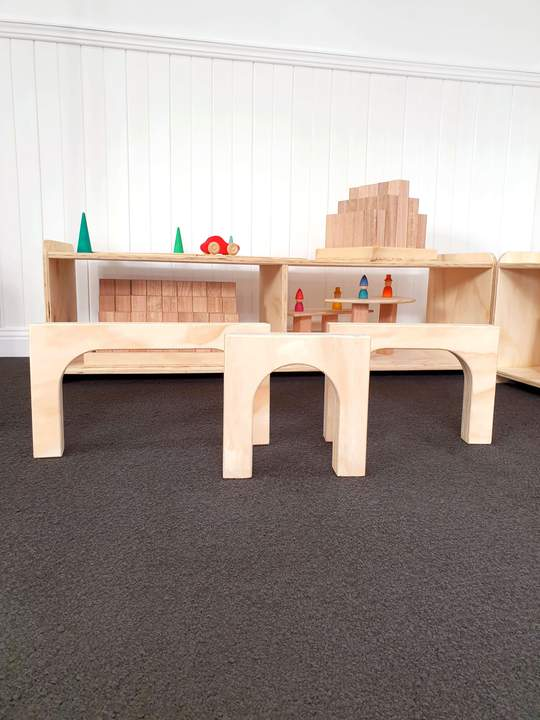 The Wooden Toy Co - Archway Set x3