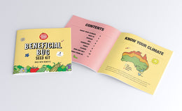 The Little Veggie Patch Co - Beneficial Bugs Seed Kit - www.spottydot.com.au