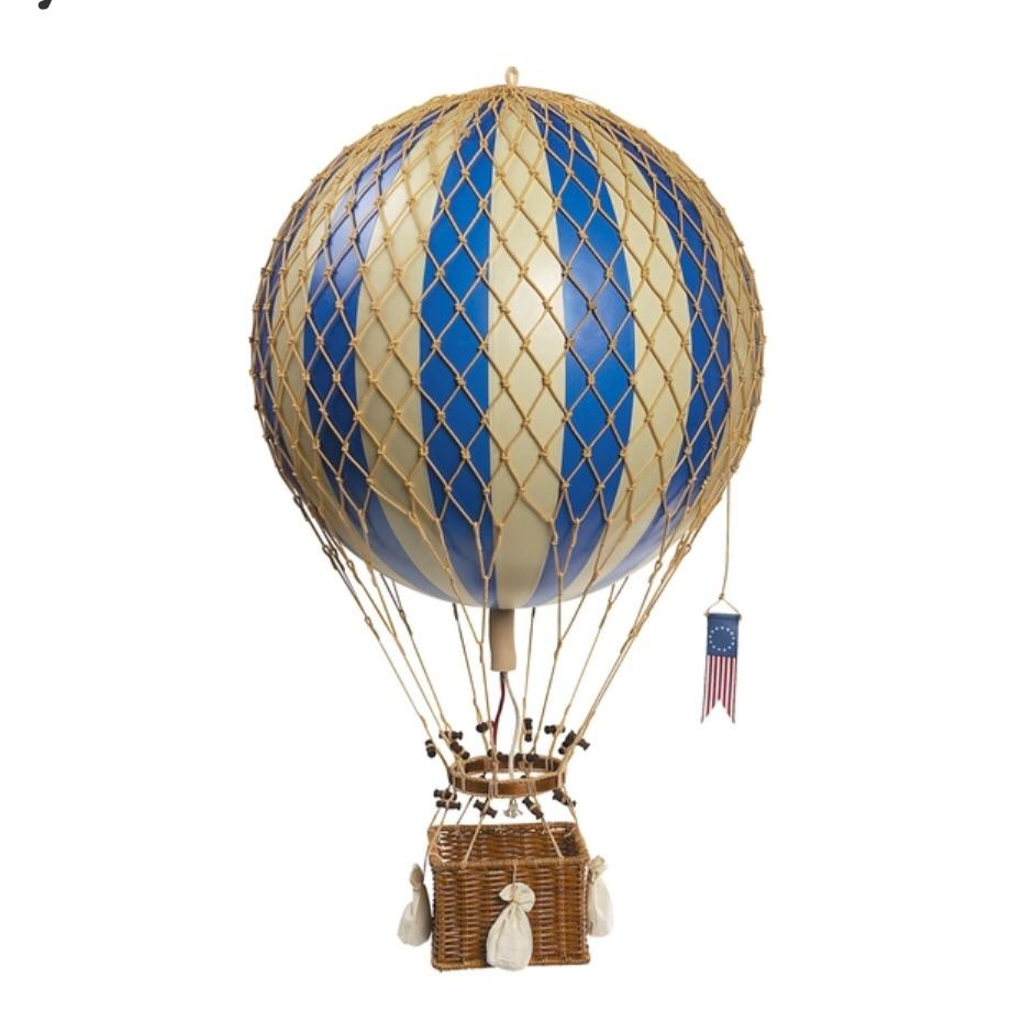 Blue - Hot Air Balloon - Small, Medium, Large