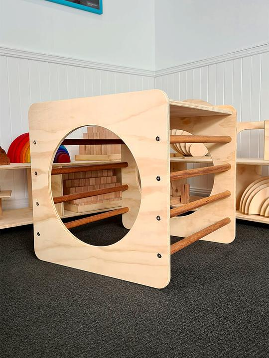 The Wooden Toy Co - Climbing Cube