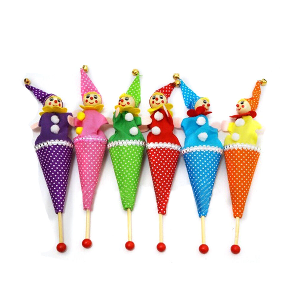 Push Clown Puppets - Spotty Dot