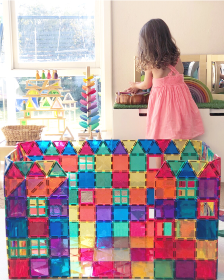 Connetix Tiles - 100 Piece Set - Age 3+